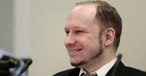 Anders Breivik durante julgamento.  (Heiko Junge / EFE)